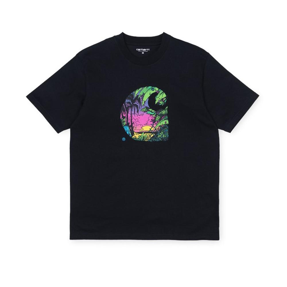 CARHARTT S:S Sunset T-shirt -Black