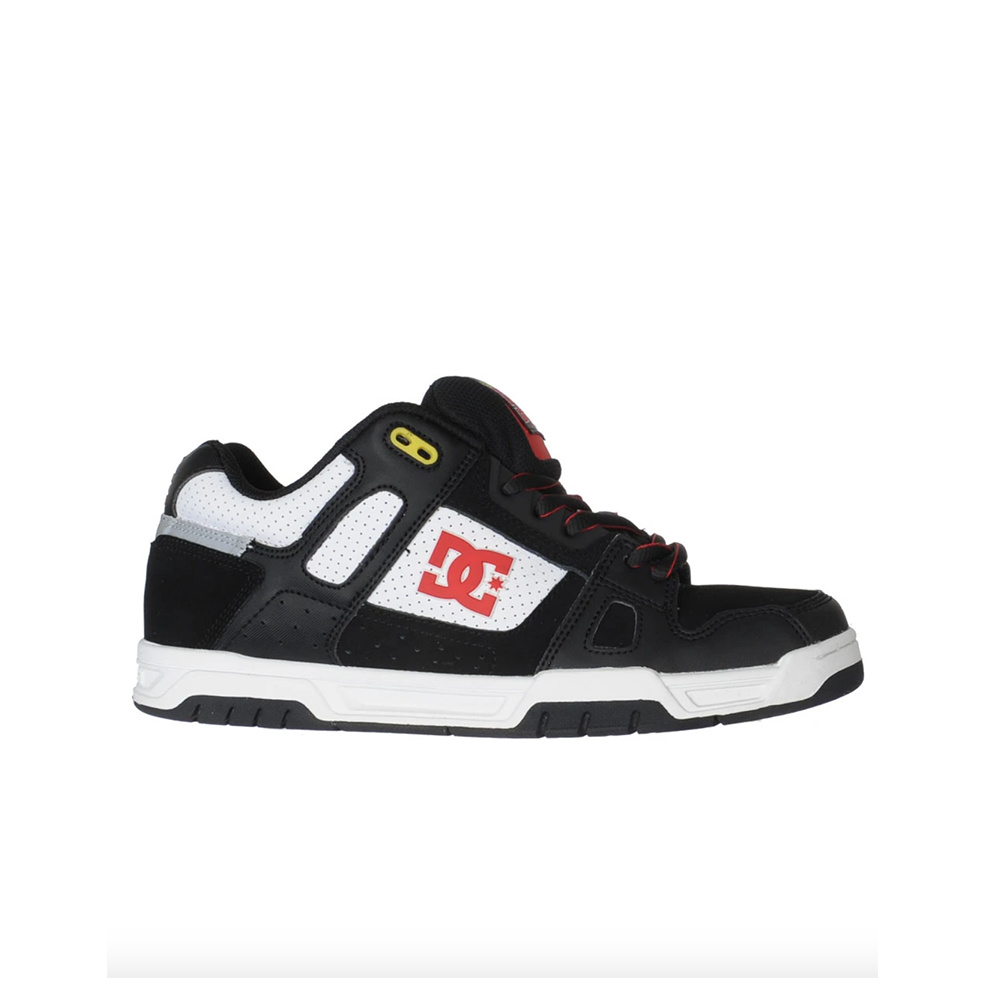 DC Scarpe Stag TP - Blk/Wht/atlethic red