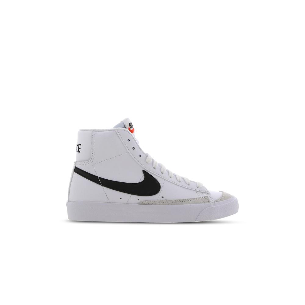 Scarpe Nike Blazer MID 77 (GS) Wht/Blk Team Orange