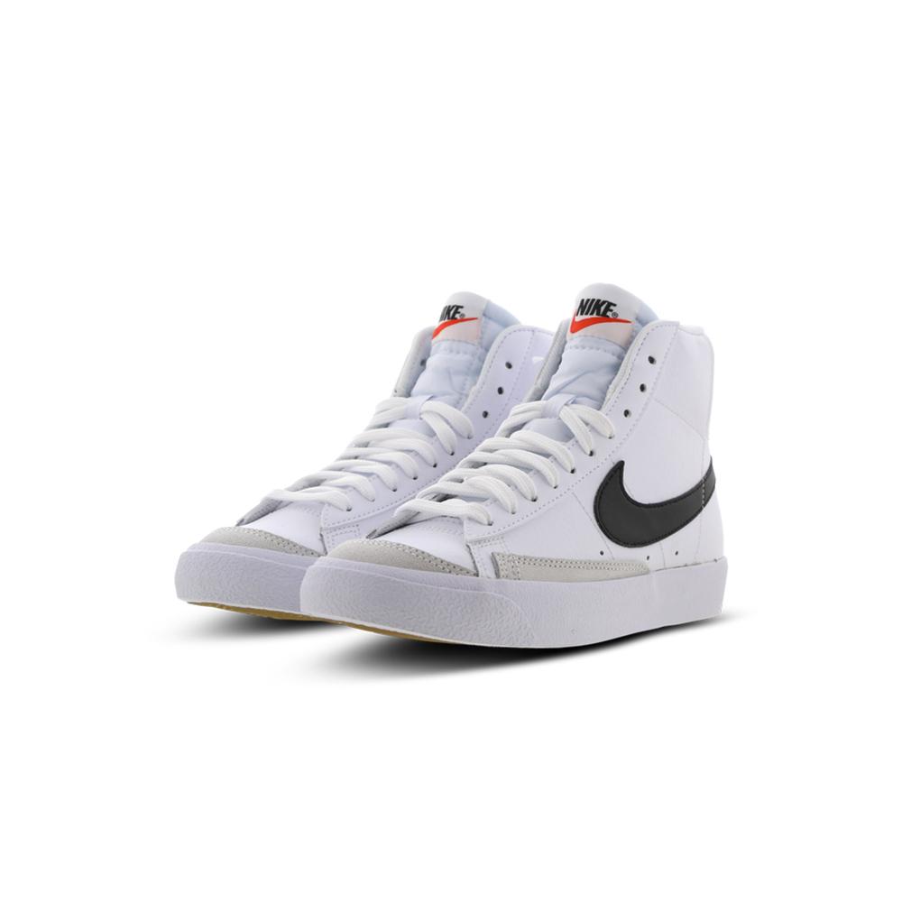 Nike Scarpe Blazer MID 77 (GS) Wht/Blk Team Orange