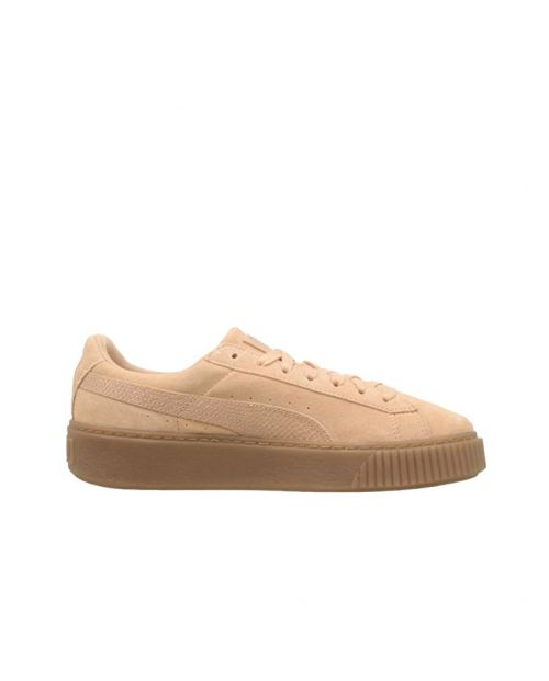 Puma Suede Platform Animal Cameo Brown:Silver2