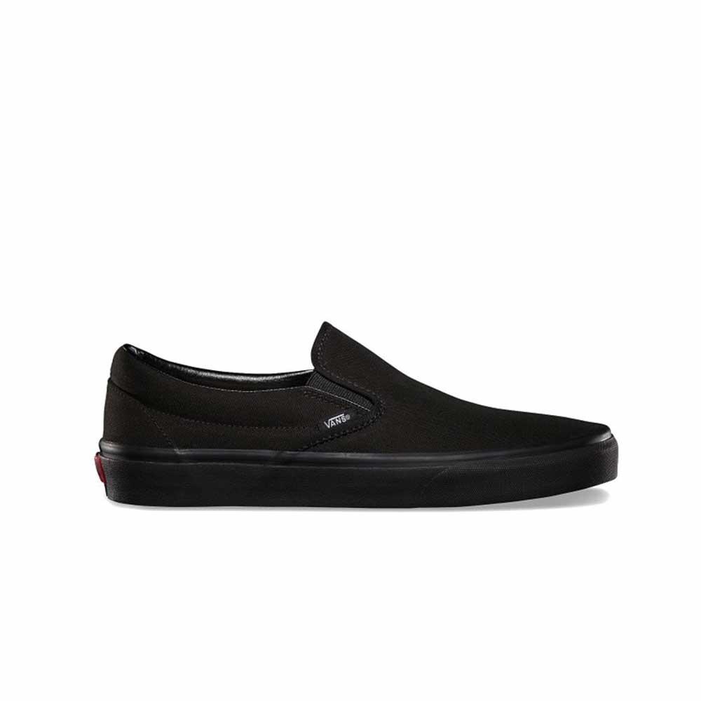 Scarpe Vans Classic Slip on Lite Canvas Black Black