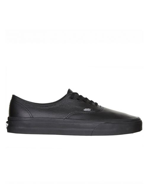 VANS - Authentic Decon Premium Leather - Blk/Blk