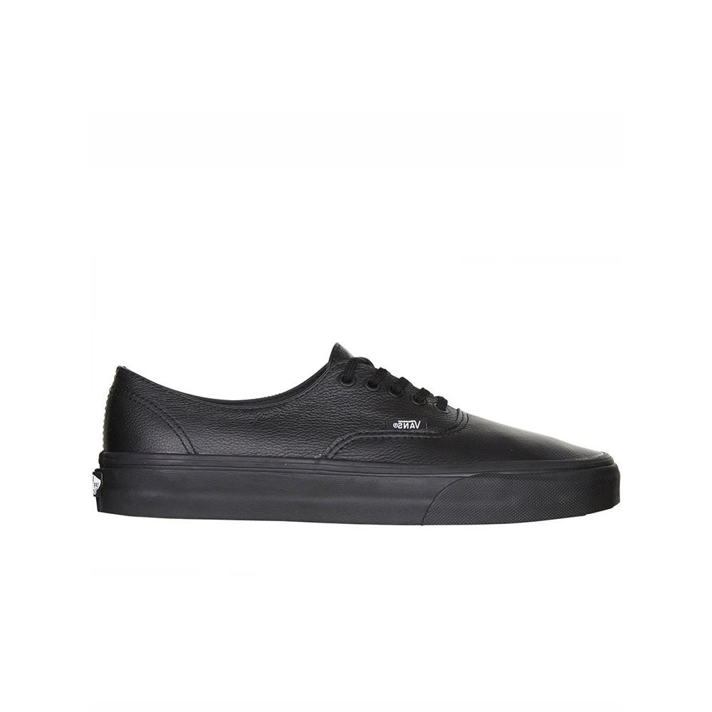 VANS - Authentic Decon Premium Leather - Blk/Blk