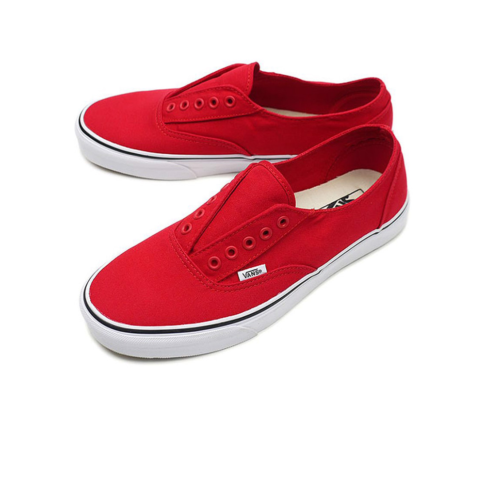 VANS Era Laceless - Red/True White
