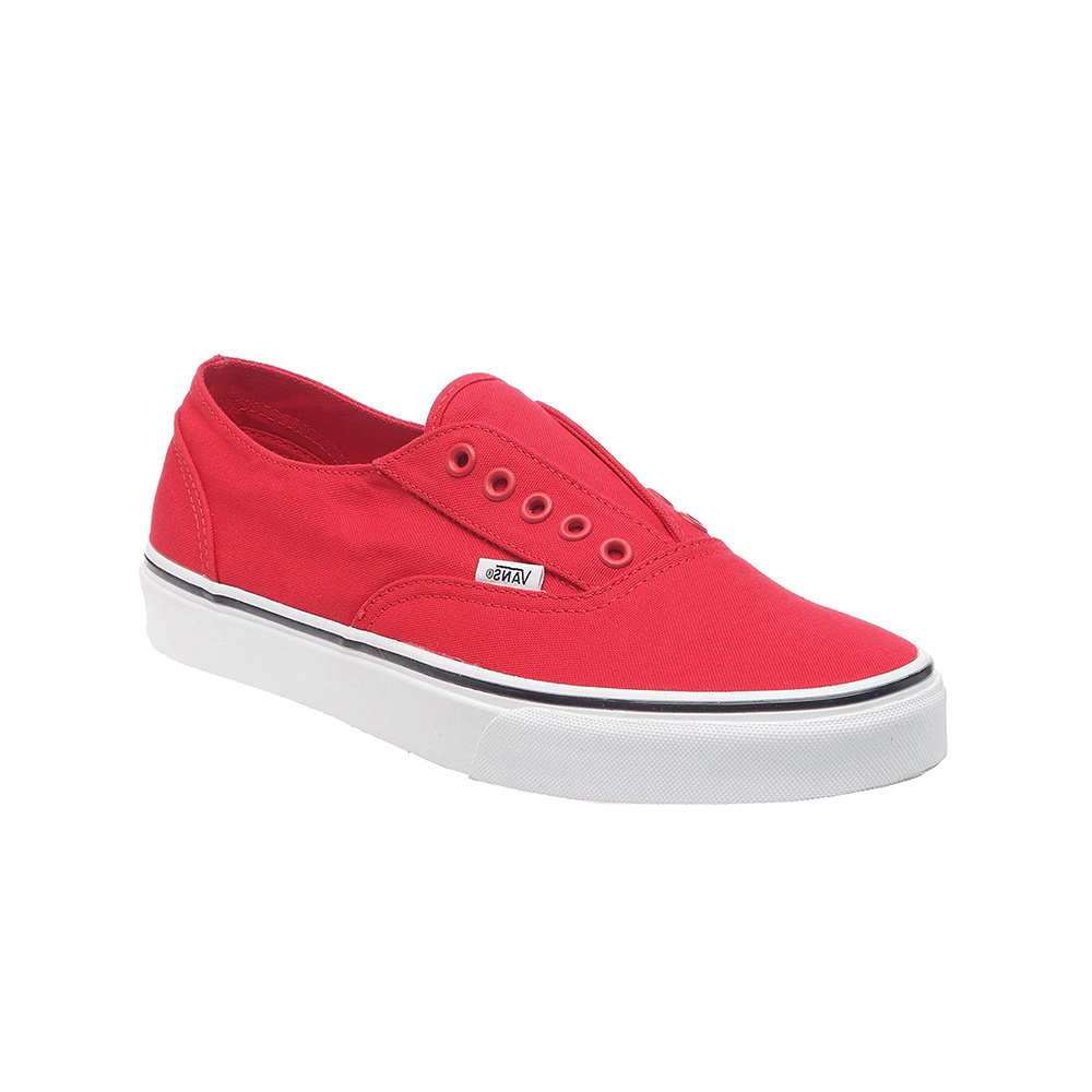 VANS – Era Laceless – Red:True WhiteE