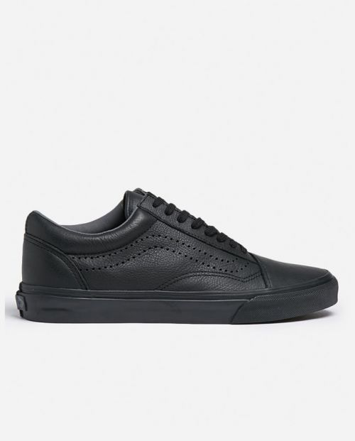 Old Skool Reissue Leather - Black