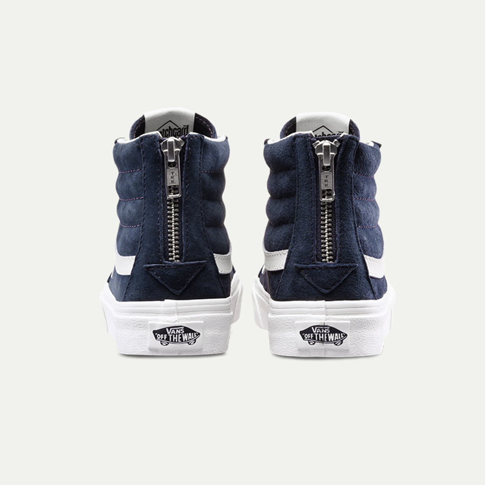 VANS Sk8 -HI Slim Zip Scotchgard - Blue Graphite