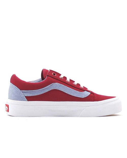 VANS Sk8 - Old Skool T&C - Biking Red/Captains Blue