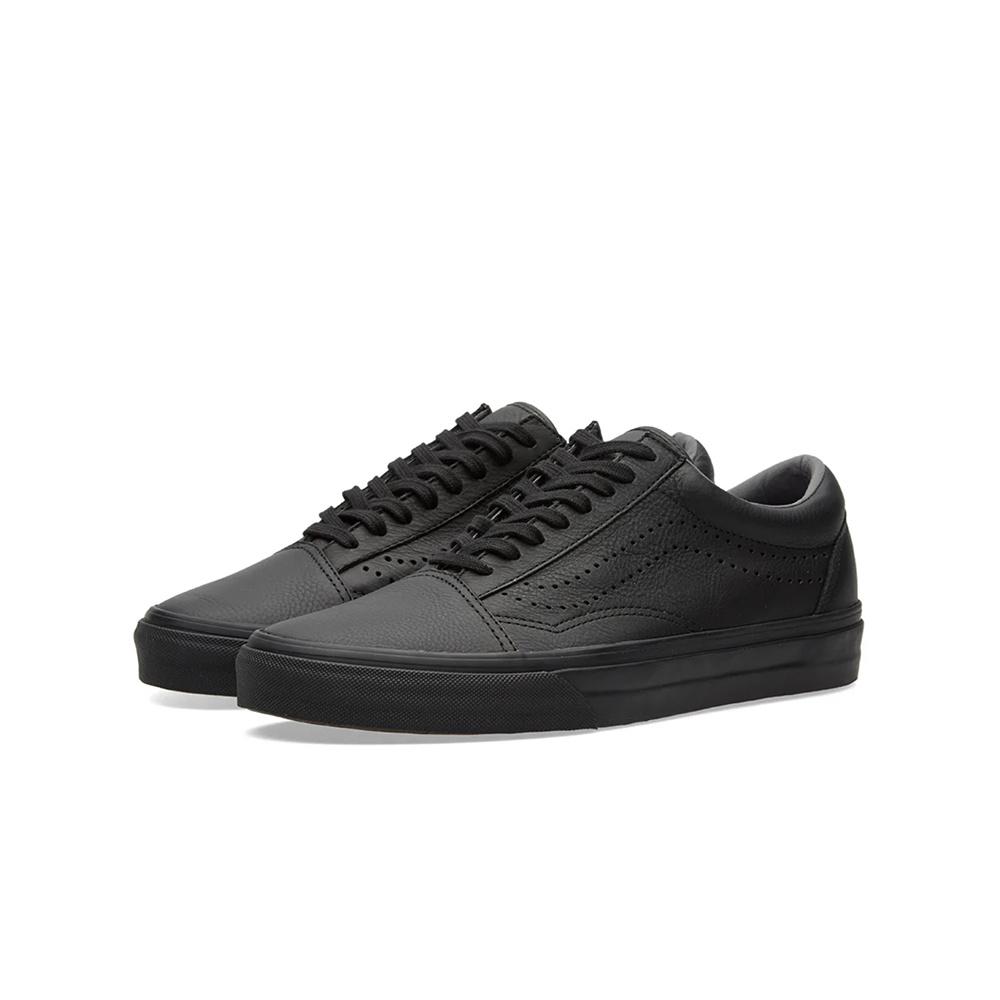 Vans Old Skool Reissue Leather - Black