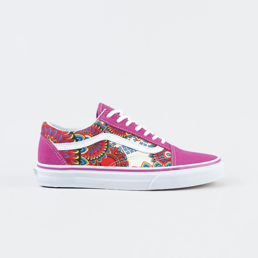 Vans Scarpa Authentic (Geo Floral) Magenta/true White