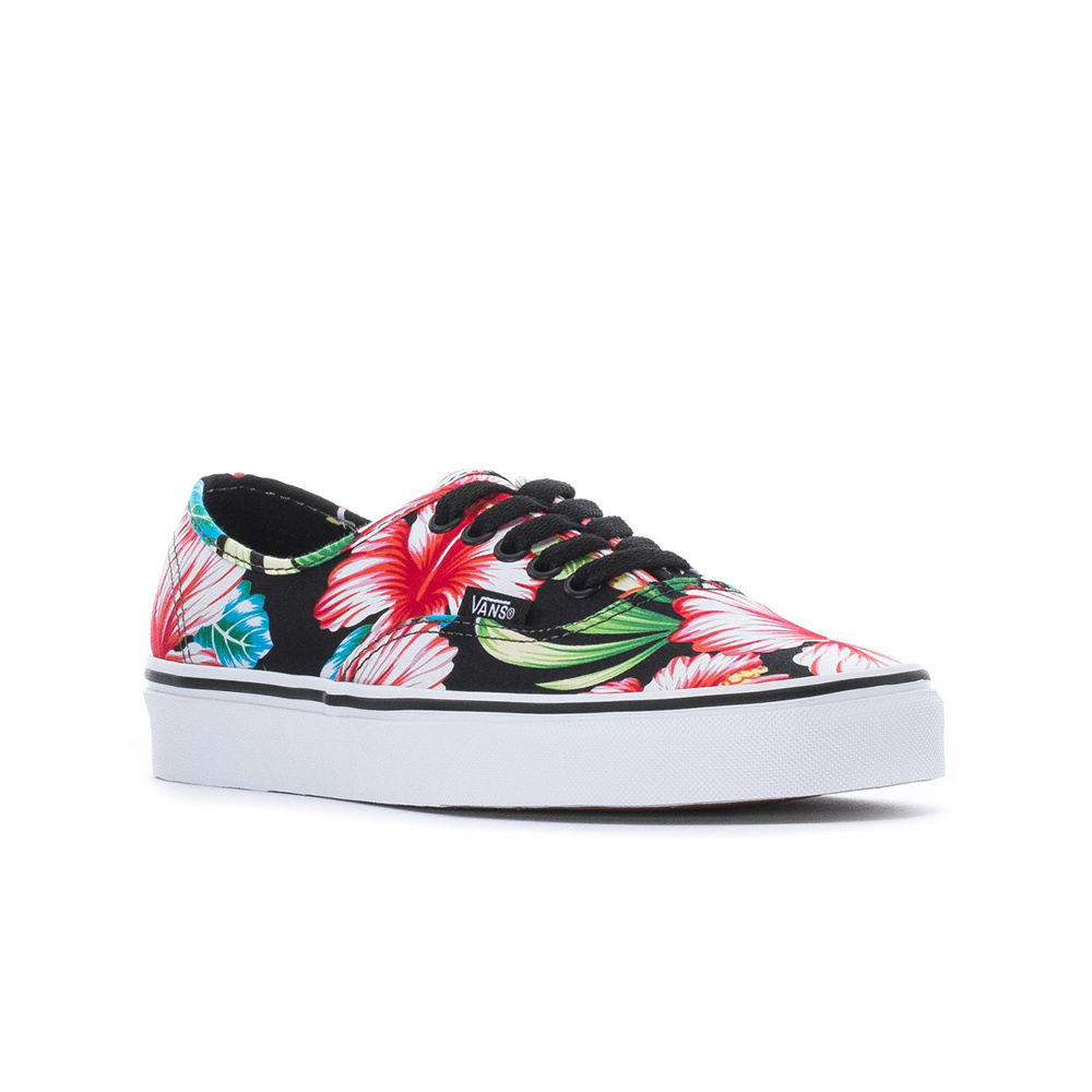 Vans Scarpa Authentic (Hawaiian Floral) Black