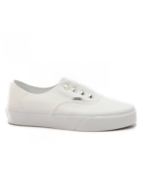 Vans Scarpa Authentic (Studs) True White