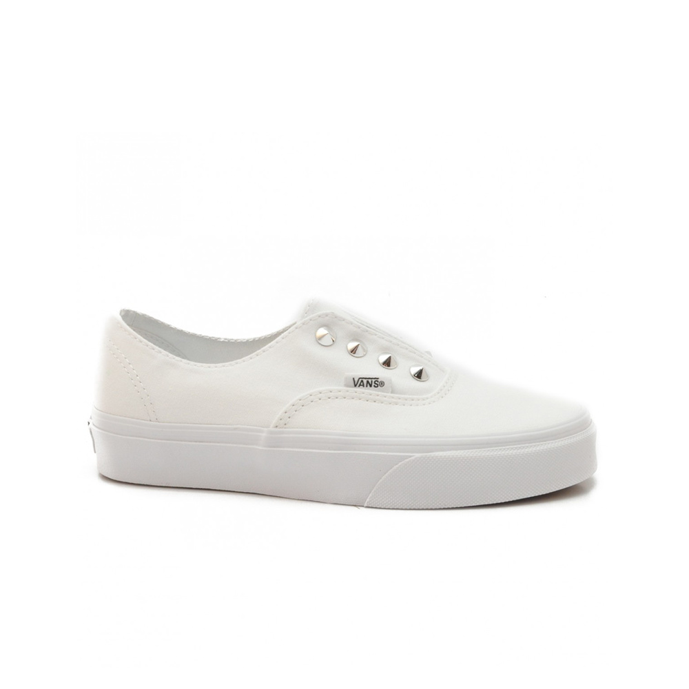 Vans Scarpa Authentic (Studs) True White