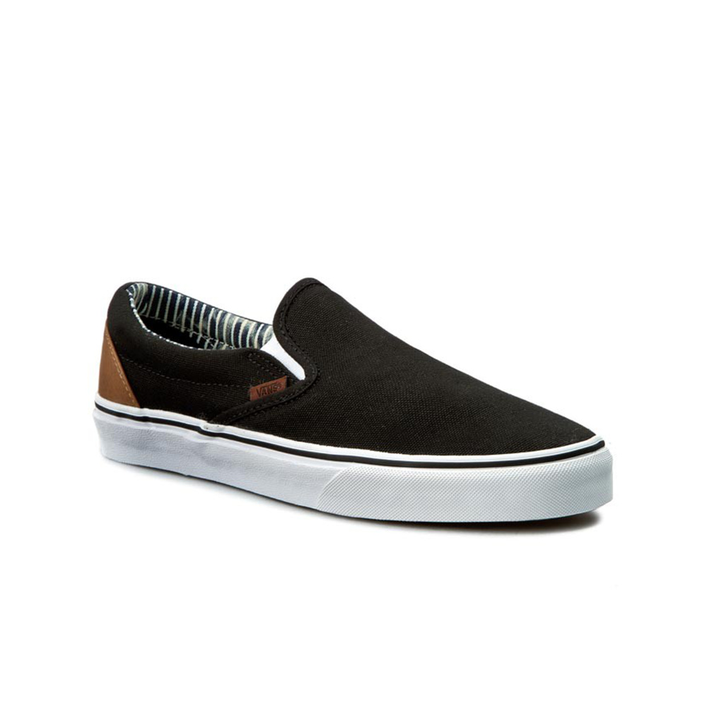 Vans Scarpa Classic Slip-on (C&L) Blk/Stripe Denim