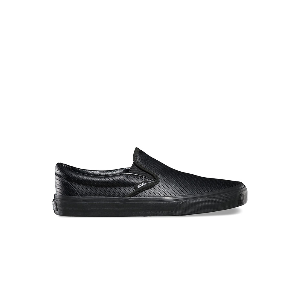 Vans Scarpa Classic Slip-on (Perf Leather) Blk/Blk