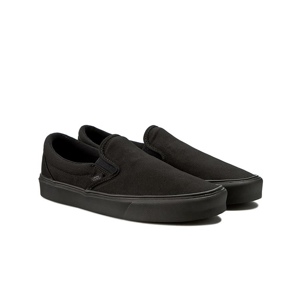 Vans Scarpa Slip-on Lite + (Canvas) Blk/Blk