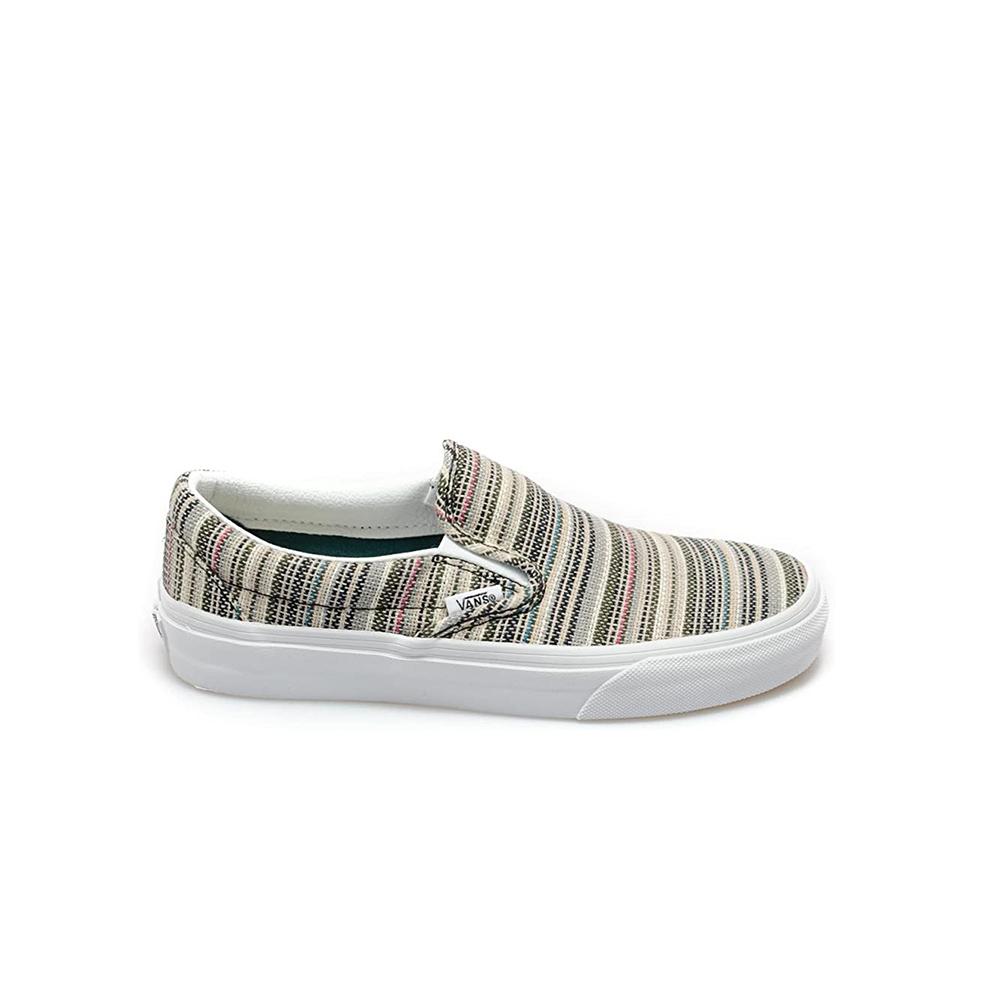 Scarpe Vans Classic Slip-on Stripes Blsm/Twt
