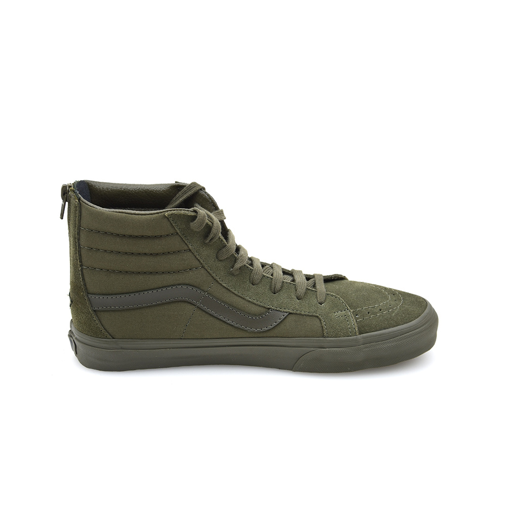 Scarpe Vans Sk8 HI Reissue Zip Mono Ivy Green