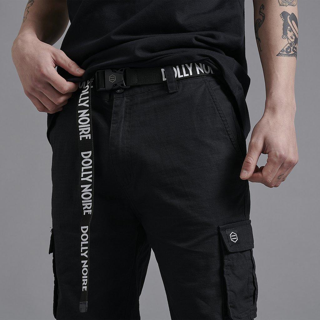Dolly Noire Cintura Stripe Logo Belt