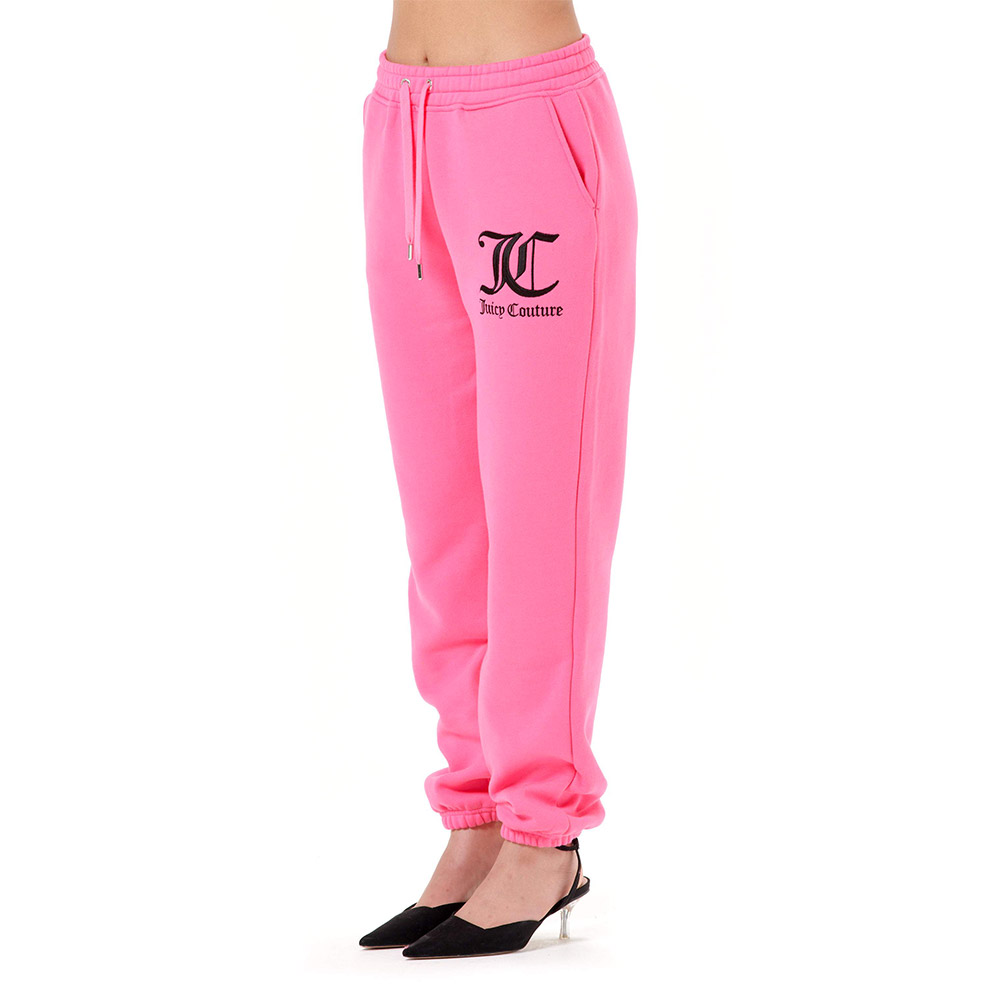 juicy culture EMBROIDERED LOGO BOYFRIEND JOGGERS