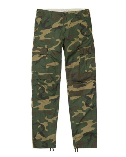 Carhartt Pantaloni Aviation Pant camo laurel