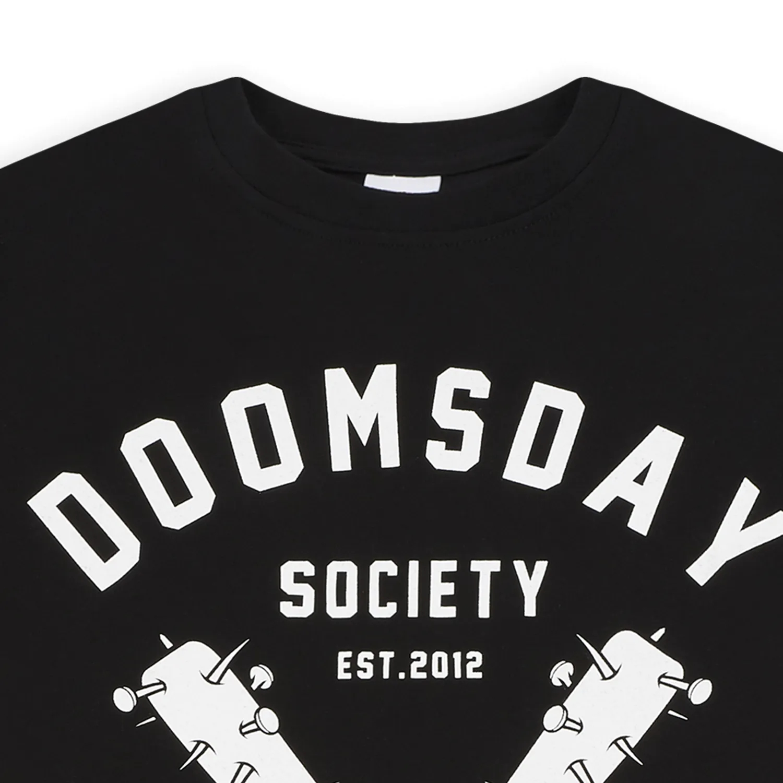 DOOMSDAY T-Shirt No Mercy 1 Black 1