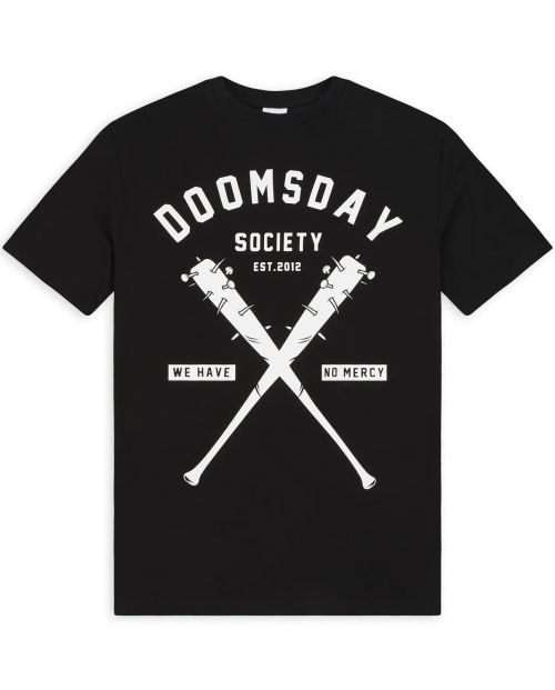 DOOMSDAY T-Shirt No Mercy 1 Black 1