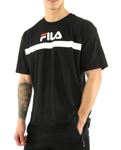 T-shirt Fila da Uomo Anatoli Black