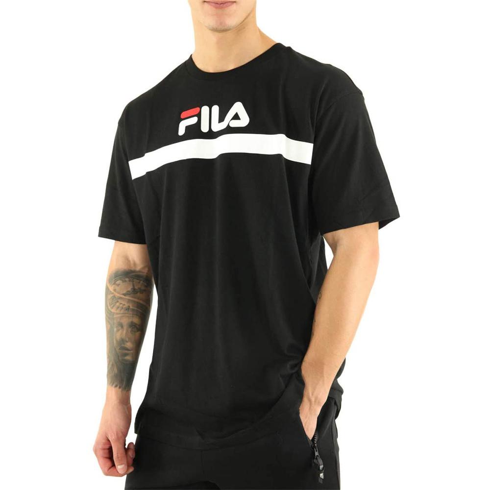 FILA T-shirt Men Anatoli Black