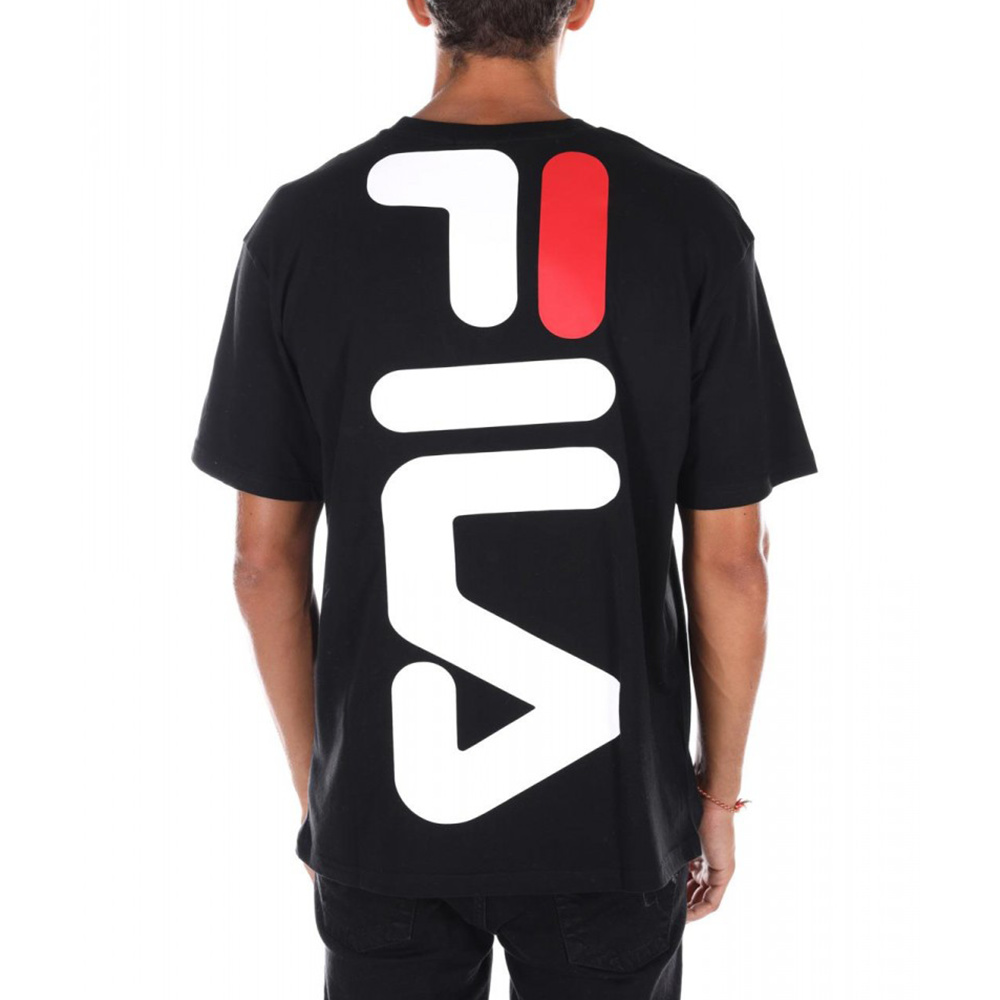 FILA T-shirt Men Anatoli Black_2