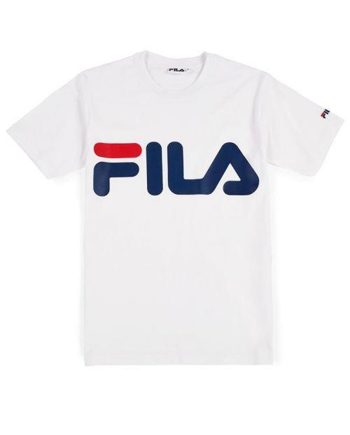 Fila T-Shirt Classic Logo Bright White