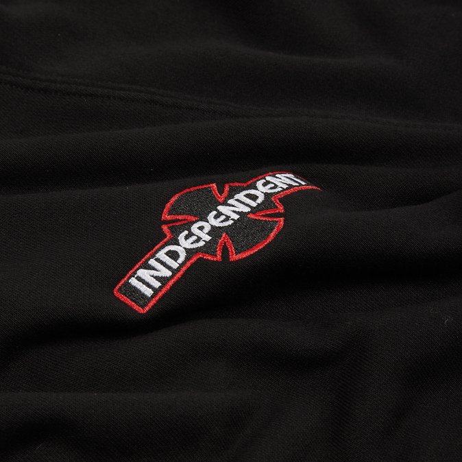 Independent Felpa Array Raglan Hoodie Black