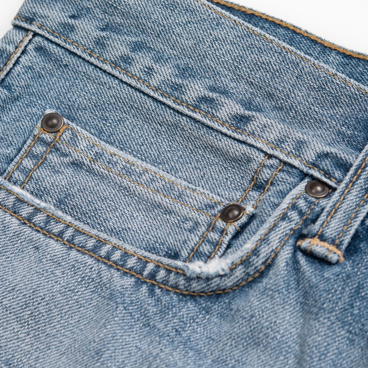 CARHARTT Pantaloni Klondike Pant - Blue denim Worn Bleached