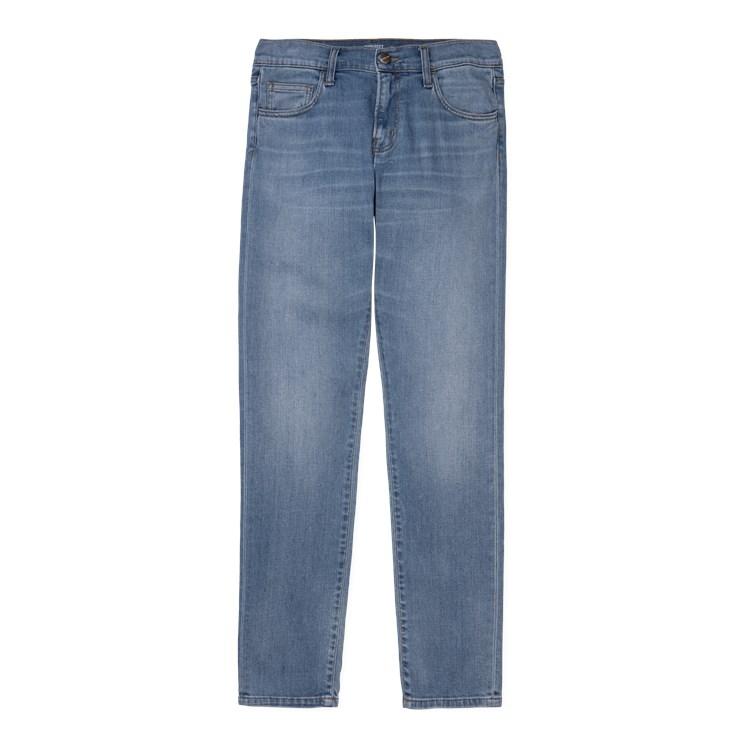 CARHARTT Pantaloni Rebel Pant - Blue denim Mid Used Wash