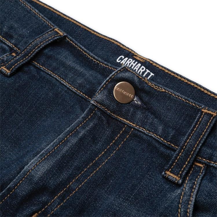 CARHARTT Pantaloni Rebel Pant - Blue denim Deep Coast Washed