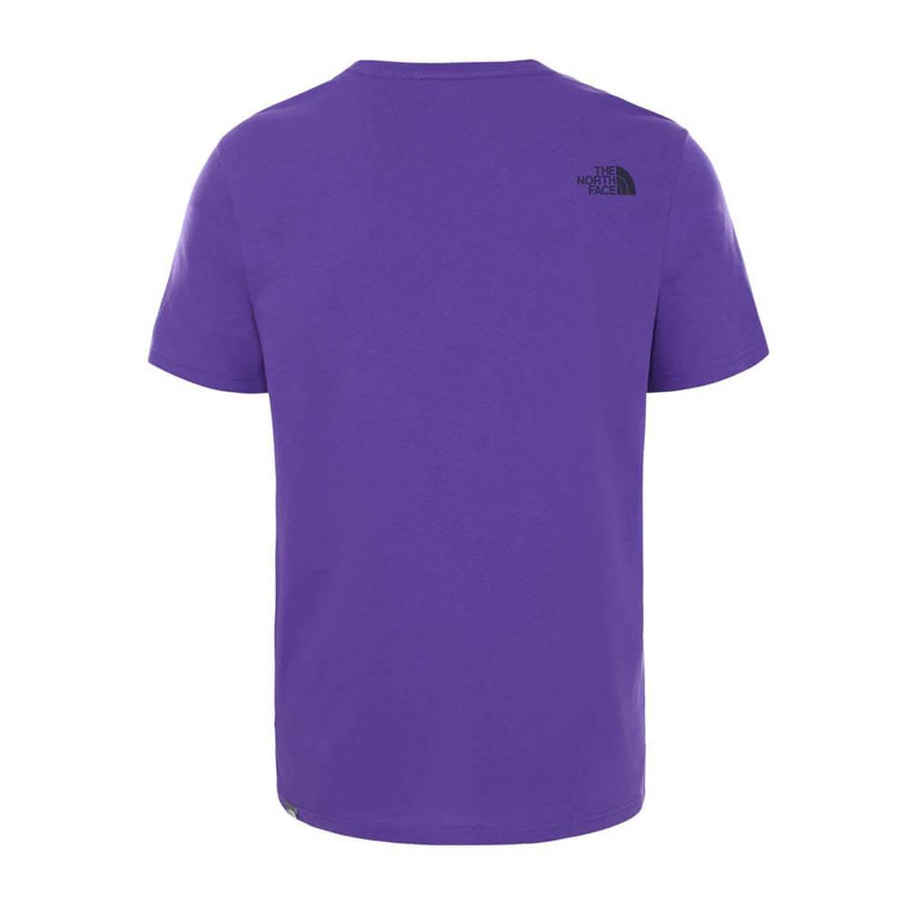 The North Face T-Shirt m:ss Easy Tee Peach Peak Purple_2