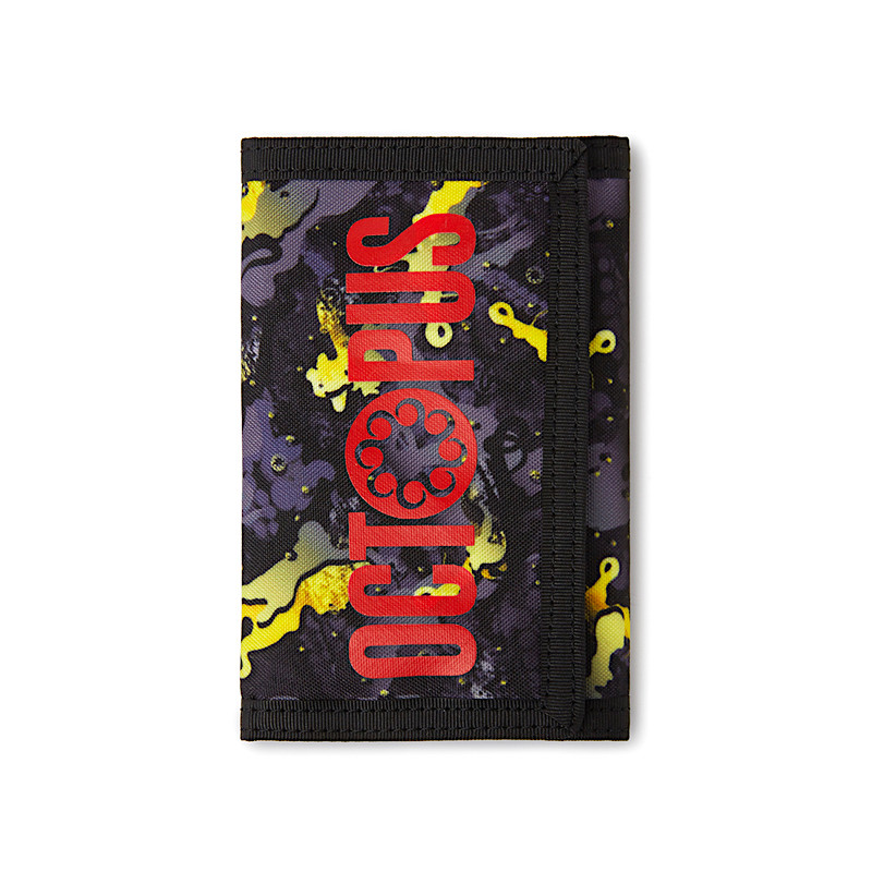 Octopus Camo Wallet - Black 2