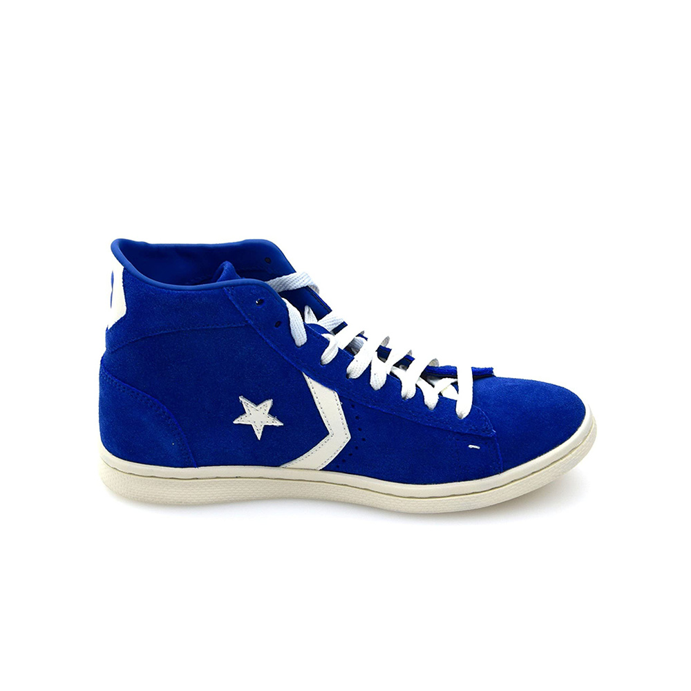 Scarpe Converse Pro Leather Royal Off White
