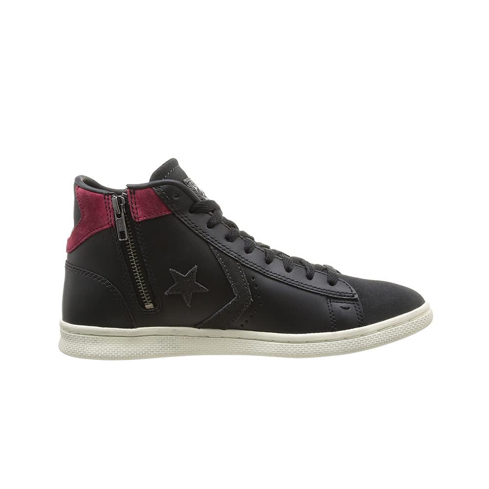 Scarpe Converse Pro Leather Mid Black Char