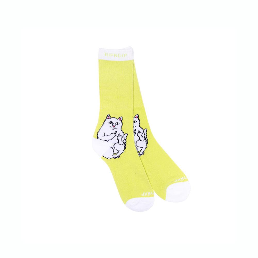 Calze Ripndip Lord Nermal Socks Neon