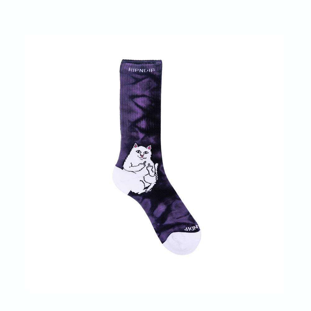Calze Ripndip Lord Nermal Socks Purple Lightning