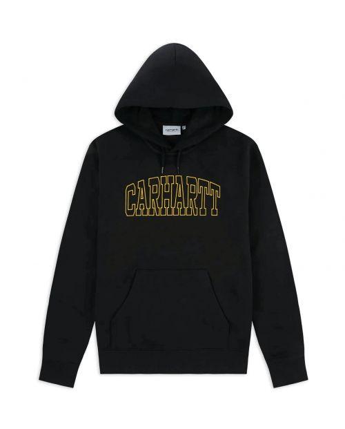 Carhartt Felpa Hooded Theory Embroidery Sweat- BLK-COISA