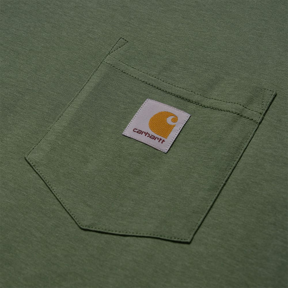 Carhartt T-Shirt S:S Pocket T-Shirt - DOLLAR GREEN 1