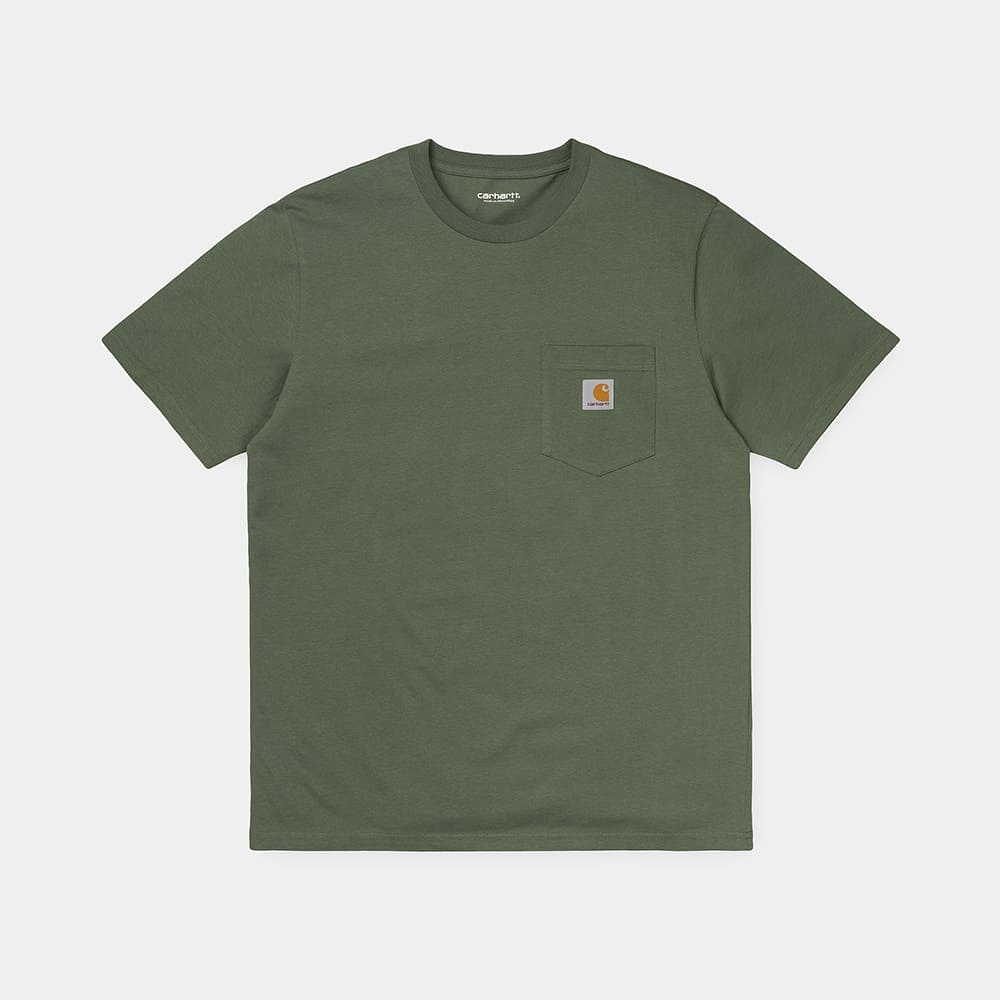 Carhartt T-Shirt S:S Pocket T-Shirt – DOLLAR GREEN