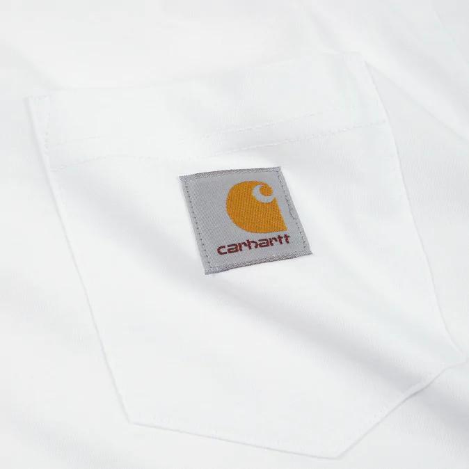 Carhartt T shirt Pocket white
