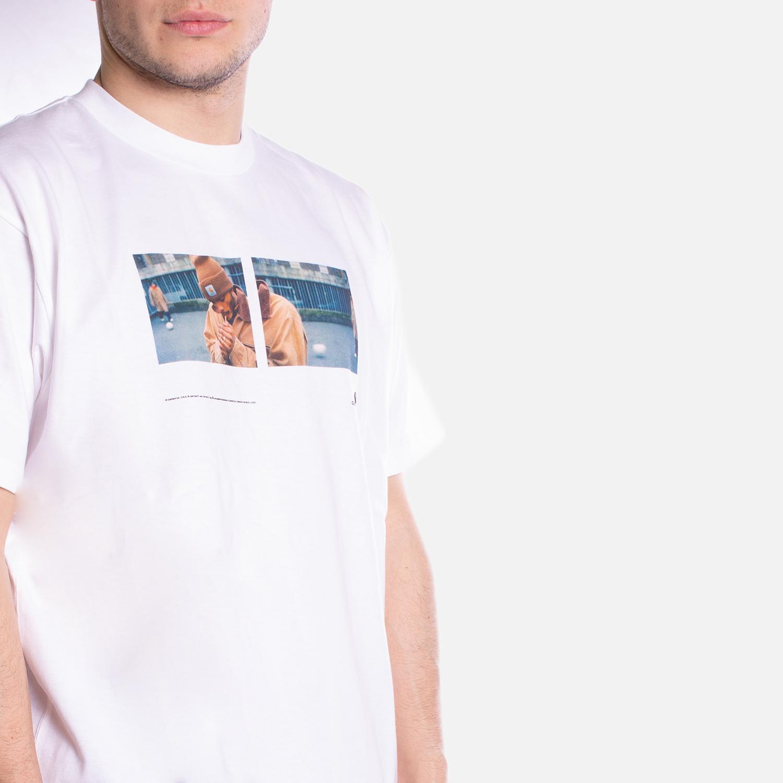 Carhartt T-shirt S-S Backyard - WHT 1