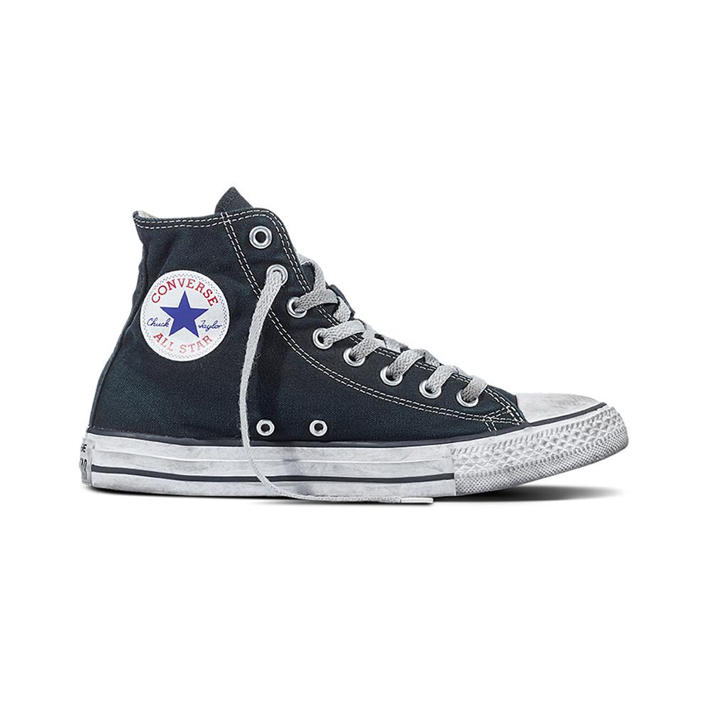 Converse All Star HI Canvas LTD Black Smoke1