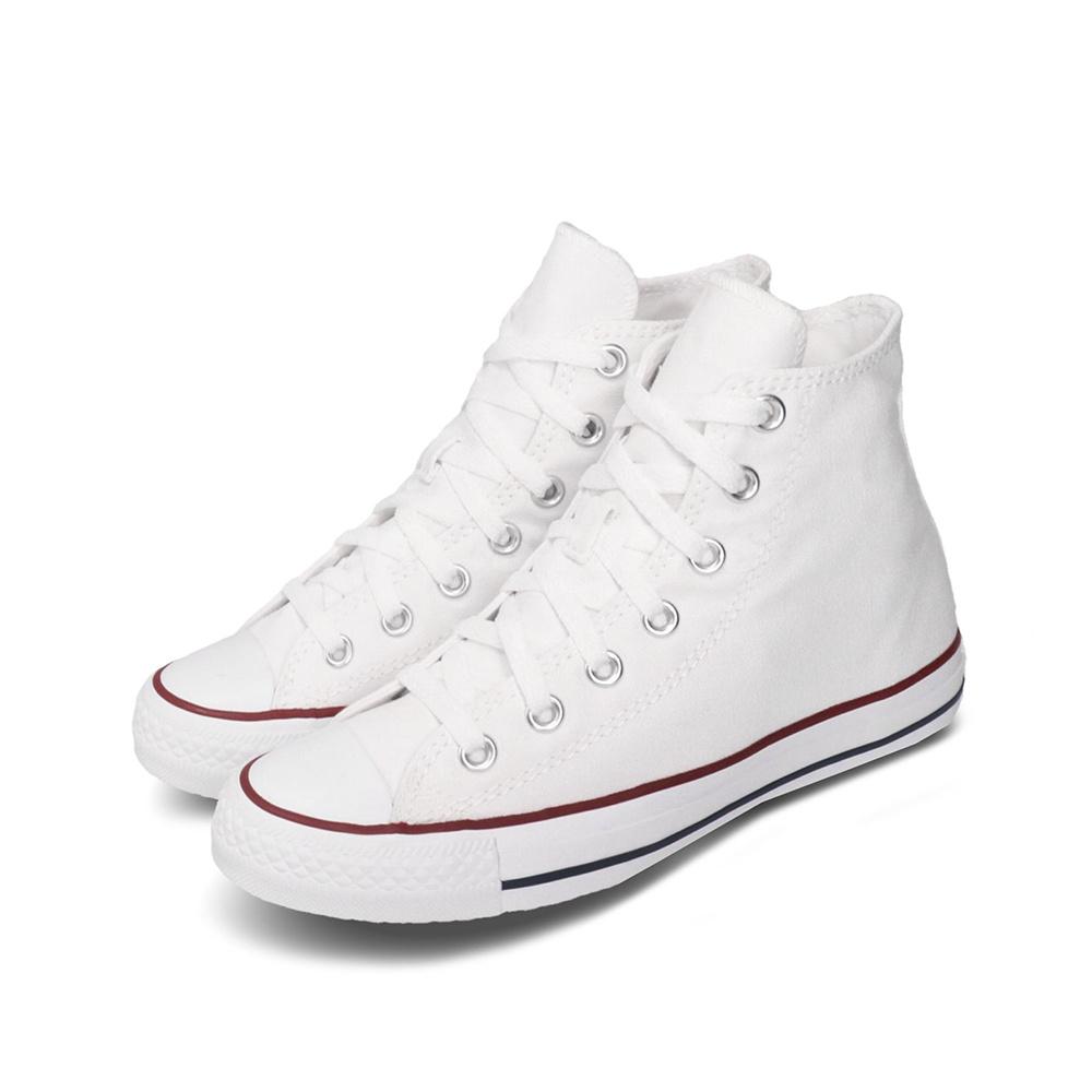 Converse All Star HI Canvas White1
