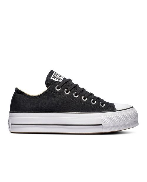 Scarpe Converse All Star Platform OX Nero